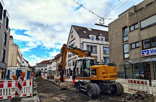 Händler sind gegen einen Baustopp