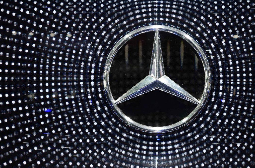 Mercedes-Benz hat im zweiten Quartal einen Rekordabsatz erreicht. Foto: AFP