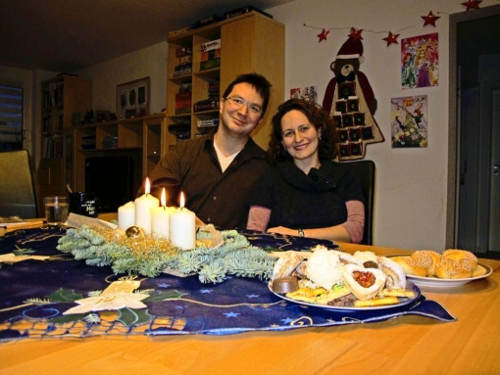 Michael und Zehra Blume leben beide ihren Glauben und respektieren den des Foto: Malte Klein
