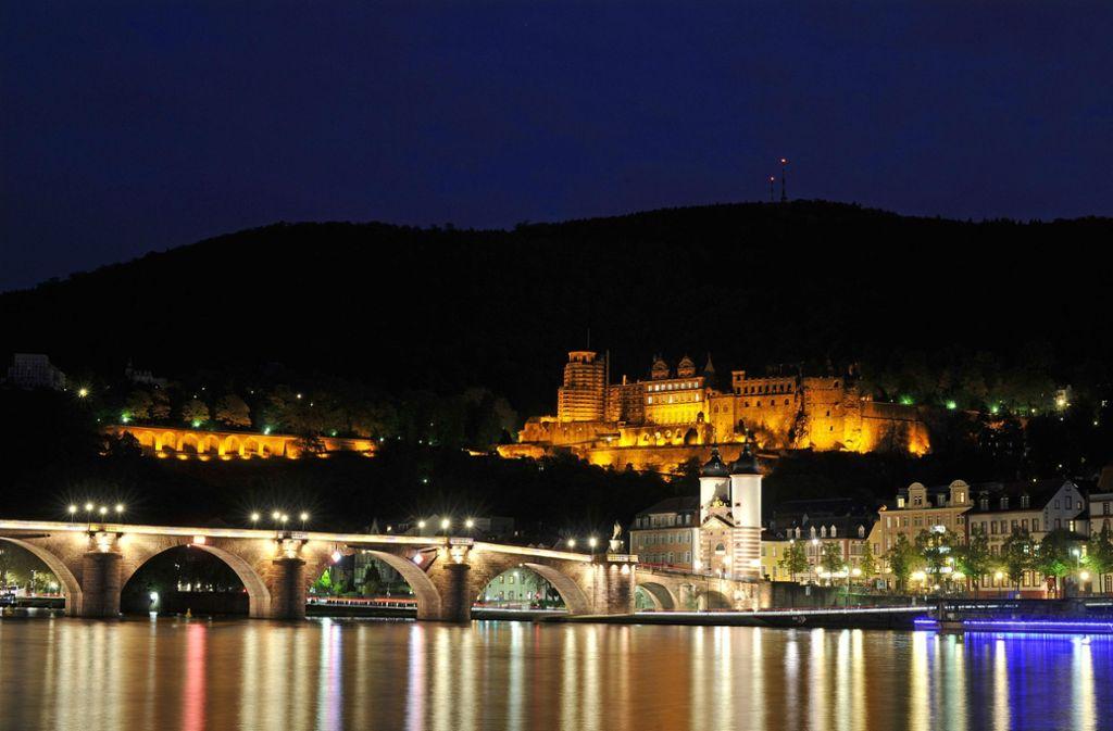 Ein beliebtes Reiseziel ist Heidelberg. Foto: dpa