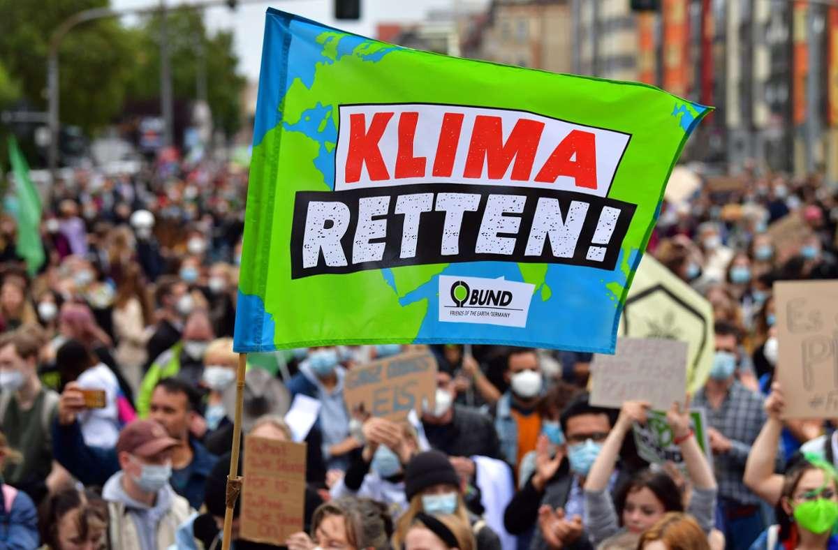 Führen Frustration und Enttäuschung nach der Wahl zu einer Radikalisierung der Klimabewegung? Foto: dpa/Martin Schutt