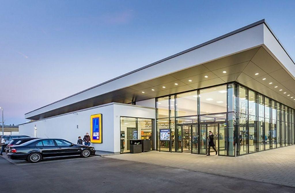 Die neue Aldi-Filiale an der Galileistraße soll offener und moderner werden als der bisherige Bau. Foto: Aldi GmbH