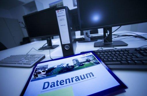 Im Datenraum beklagen bisher unbeachtete Zahlen ihr Schicksal. Foto: Horst Rudel