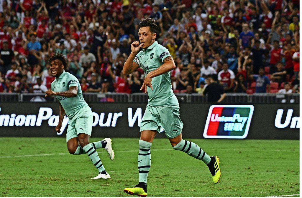 Es läuft für  Mesut Özil beim FC Arsenal. Foto: