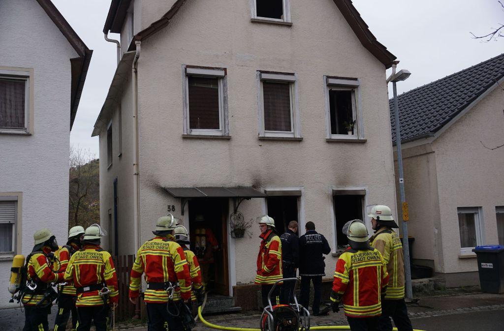 Die Bewohner des Hauses in Owen müssen nach dem Brand woanders untergebracht werden. Foto: SDMG