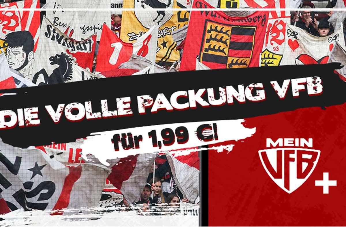Unsere Redaktion bietet ein Abonnement-Modell, dass sich explizit an die VfB-Fans richtet. Das MeinVfB+ Abo. Foto: STZN/Baumann