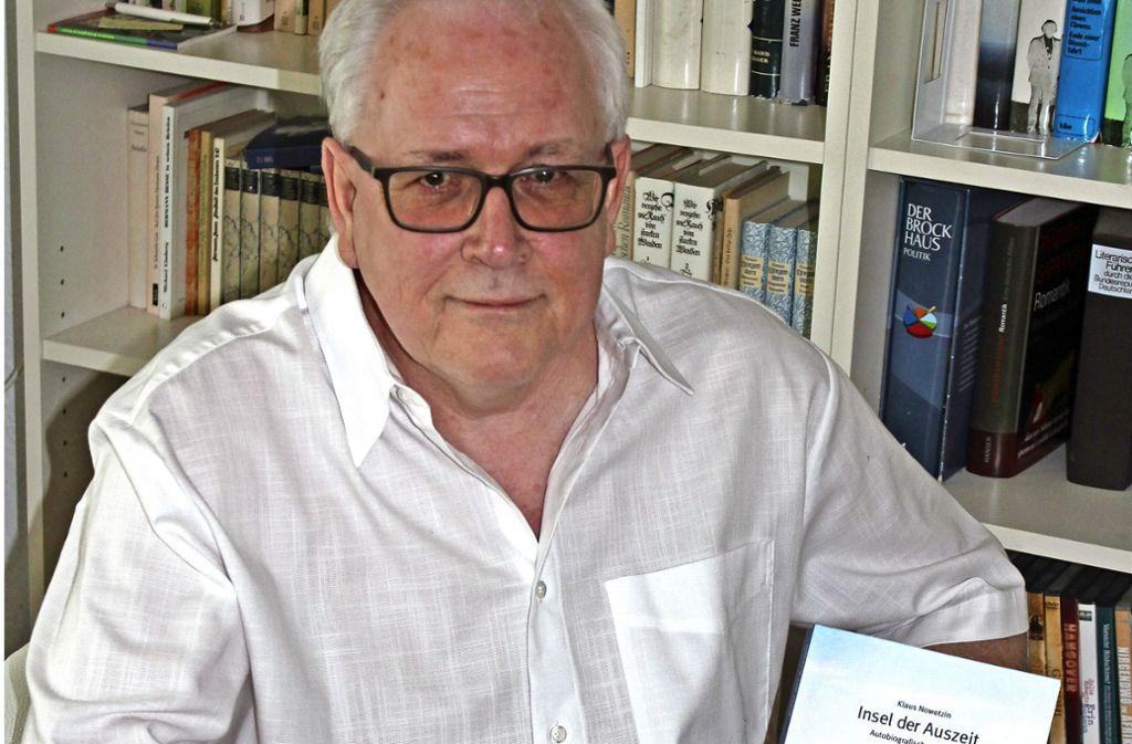 Klaus Nowotzin hat ein Buch geschrieben. Foto: Maak