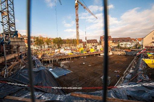 Die Neue Mitte von Botnang im November