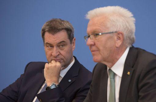 Kretschmann widerspricht Söder beim Thema Föderalismus