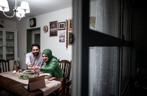 Muslime feiern  wegen Corona nur im engsten Familienkreis