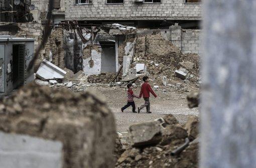 Wie steht es um die Zukunft Syriens? Die Verhandlungen gehen weiter. Foto: dpa