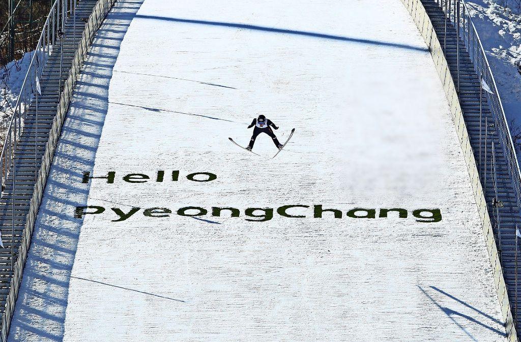Im Anflug auf Pyeongchang: Die  schwierige politische Lage könnte auch Auswirkungen auf die Olympischen Winterspiele im Februar 2018 in Südkorea haben. Foto: Getty