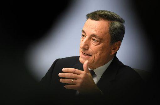 EZB kündigt den Kurswechsel an