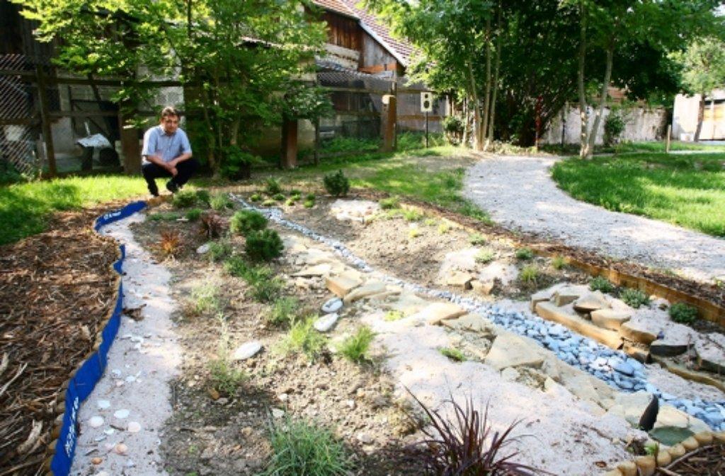 Der Bibelgarten in Heimsheim Foto: Gorr