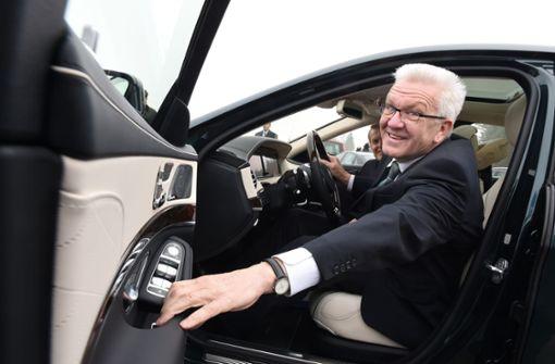 Nur zwei Minister im Südwesten fahren ganz ohne Verbrenner