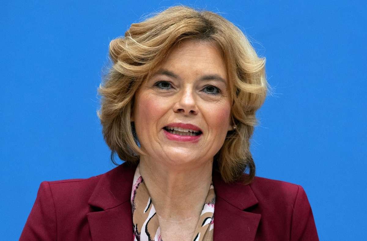 Bundeslandwirtschaftsministerin Julia Klöckner. Foto: dpa/Michael Sohn