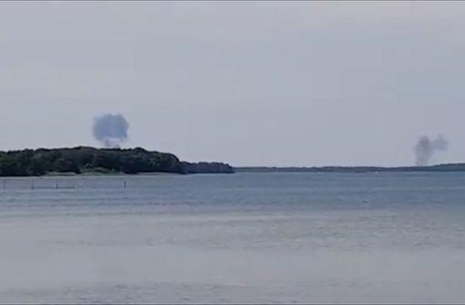 """Zwei """"Eurofighter"""" abgestürzt – ein Pilot überlebt"""