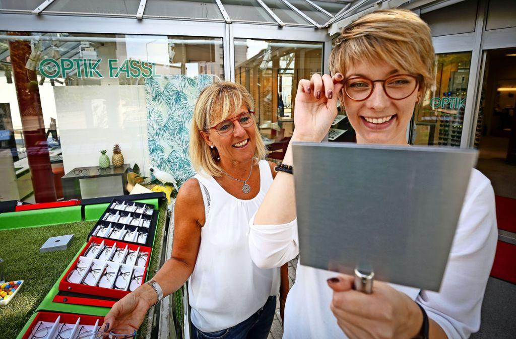 Schick und hochwertig: Brillen made in Germany. Foto: factum/Granville