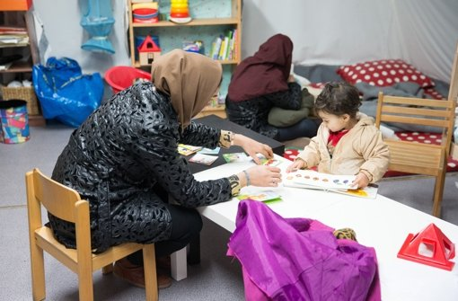 Flüchtlingsarbeit vor der Haustür