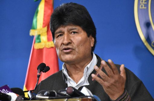 Morales kündigt Neuwahlen an