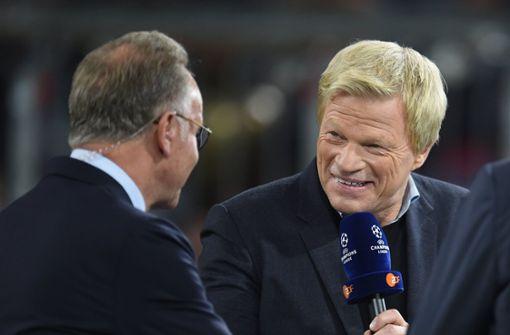 Oliver Kahn könnte bald als Rummenigge-Erbe einsteigen