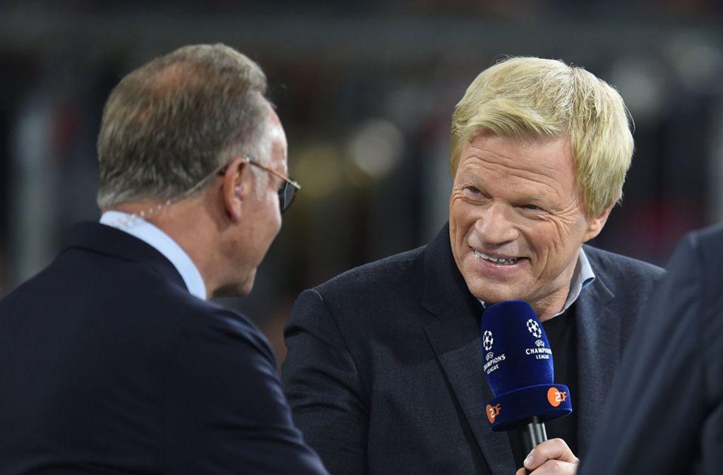 Oliver Kahn könnte nach Vertragsende von Karl-Heinz Rummenigge Vorstandschef beim FC Bayern München werden. Foto: dpa