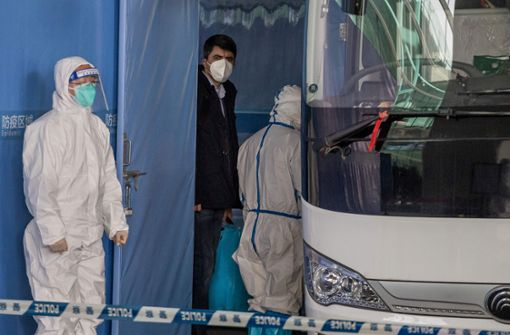 Team von WHO-Experten trifft in China ein
