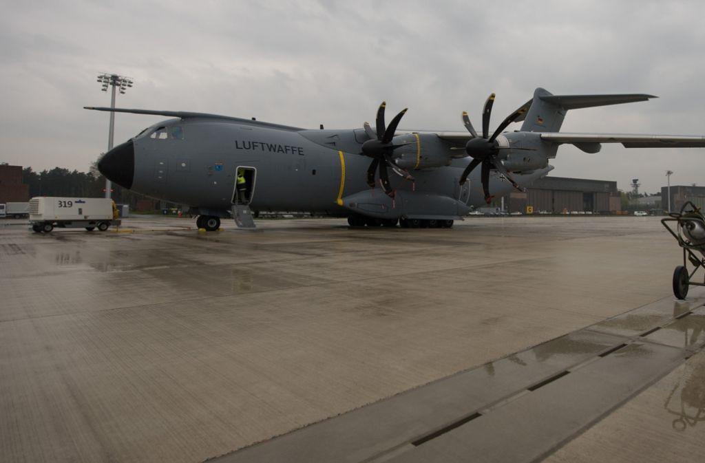 Häufig muss der A400M wegen technischer Probleme am Boden bleiben. Foto: dpa