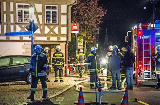 Detonation erschüttert Rathaus
