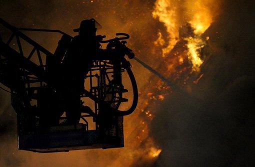 26.1.: Dachbrand durch Küchengerät