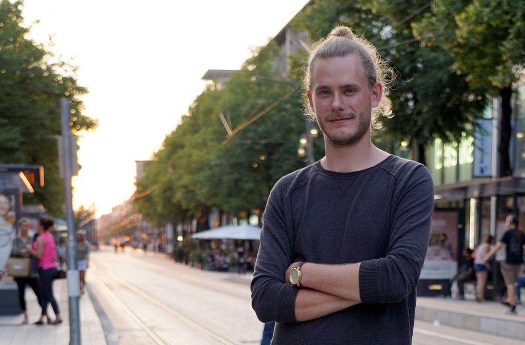 Hendrik Meier, 28, ist Deutschlands erster Nachtbürgermeister. Foto: dpa