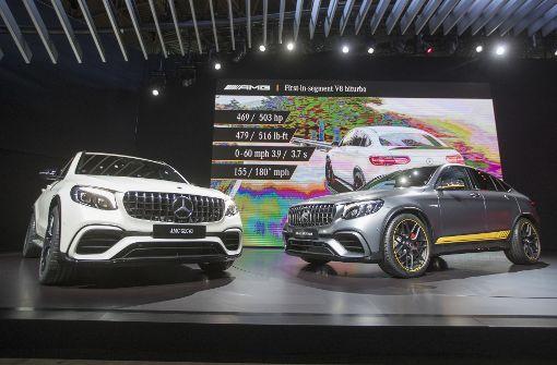 Das sind die neuen AMG-Modelle von Mercedes