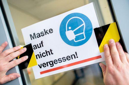 Länder-Entwurf: Maskenpflicht in Corona-Hotspots ab Klasse sieben