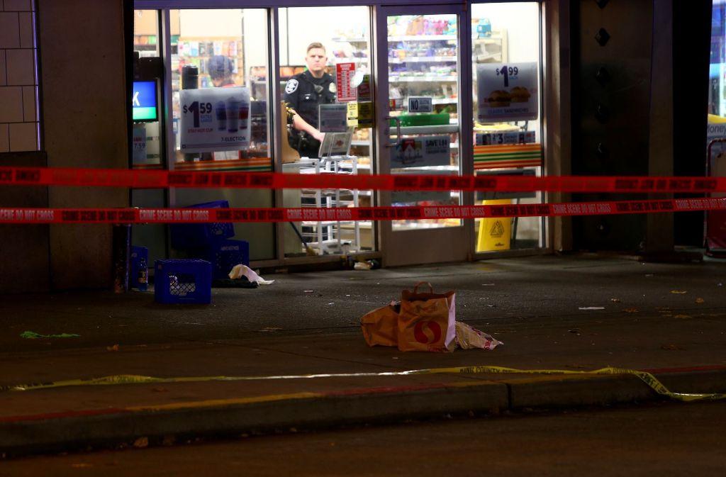 Bei einer Schießerei in Seattle sind fünf Menschen verletzt worden. Foto: AFP