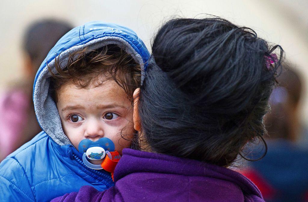 Flüchtlinge sollen gefälligst woanders wohnen, befanden einige Böblinger Hausbewohner. Foto: dpa