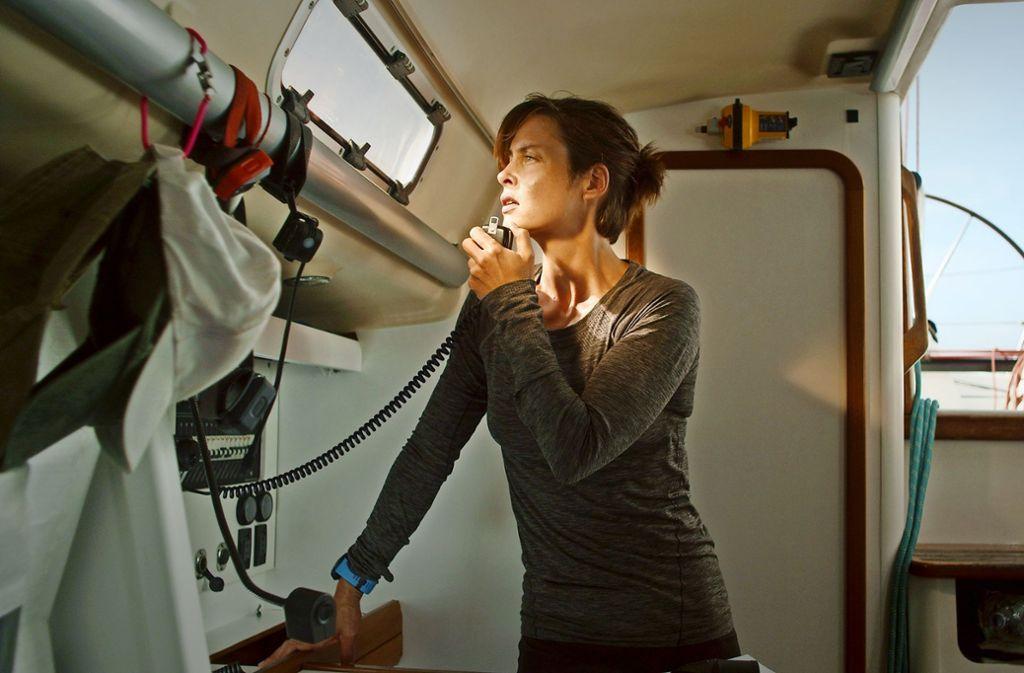 """Susanne Wolff spielt in """"Styx"""" die Notärztin Rike, die allein auf dem Meer eigentlich Erholung von ihrem harten Job sucht. Foto: Verleih"""