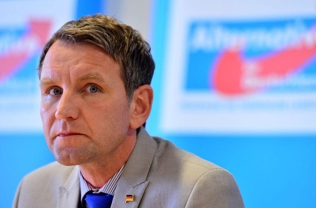 Sind die Tage von Björn Höcke in der AfD gezählt? Foto: dpa