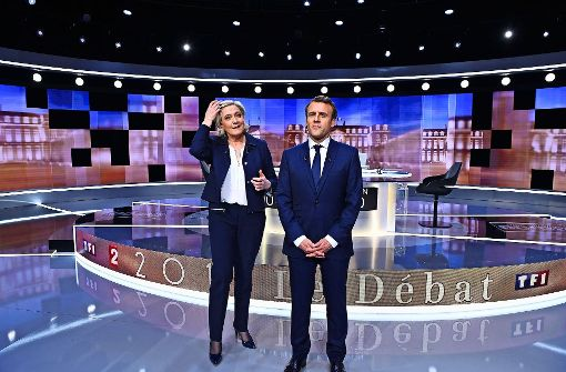 Frankreich: Umfrage: Große Mehrheit findet Macron in TV-Duell überzeugender