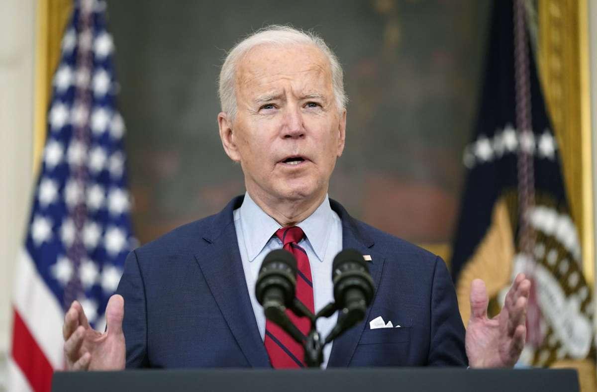 US-Präsident Joe Biden will die Steuersenkung seines Amtsvorgängers Donald Trump rückgängig machen. (Archivbild) Foto: dpa/Patrick Semansky