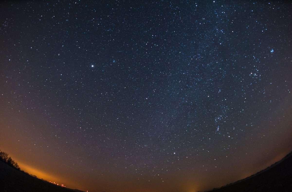 In den kommenden Tagen können Himmelsgucker mit vielen Sternschnuppen rechnen. Foto: dpa/Patrick Pleul