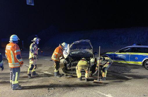 Autos stoßen zusammen - Zwei Leichtverletzte