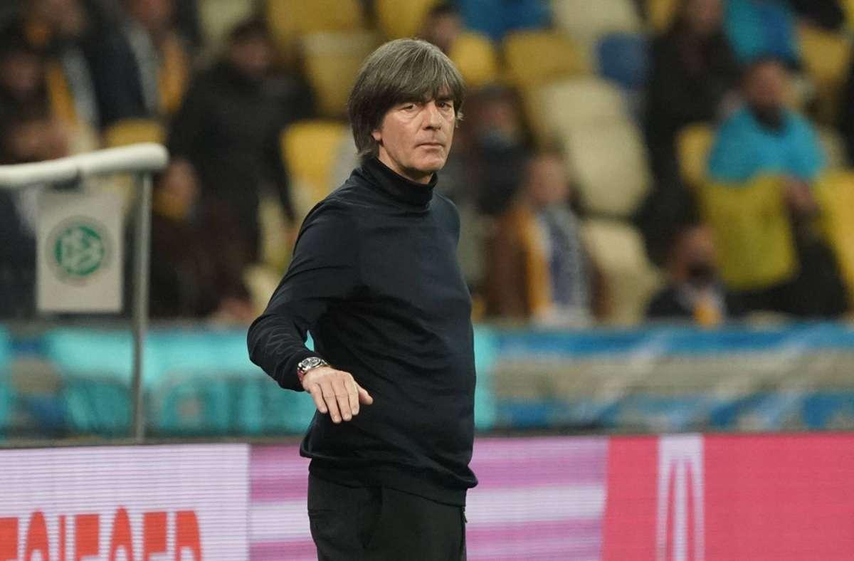 Geht unbeirrt seinen Weg: Bundestrainer Joachim Löw Foto: imago//Marc Schueler