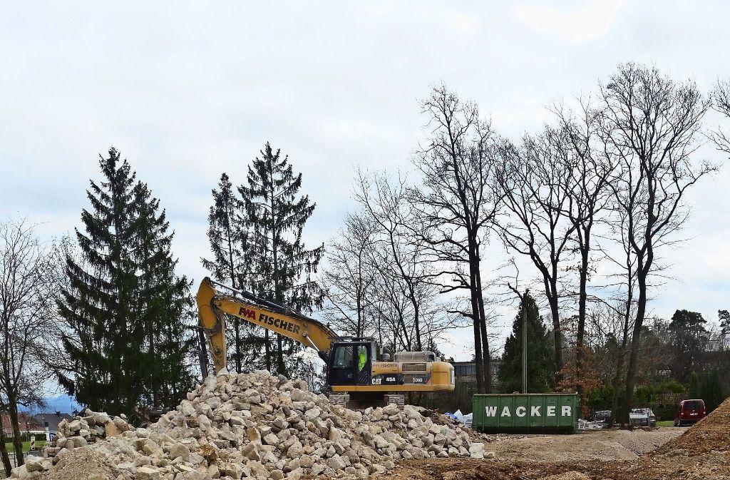 Filder kostenexplosion beim waldheim neubau landkreis for Boden neubau