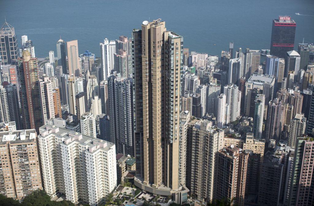 In manchen Hochhäusern kostet ein Appartement 69 Millionen Euro. Foto: EPA