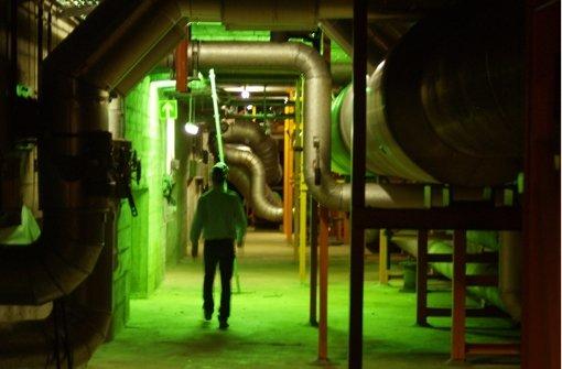 Die Turbine brummt im Körper