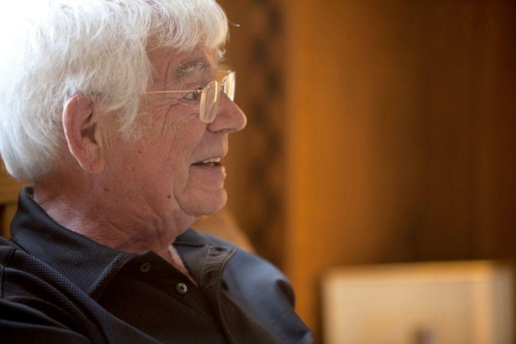 Helmuth Rilling hat die Leitung der Bachakademie niedergelegt. Foto: Steinert