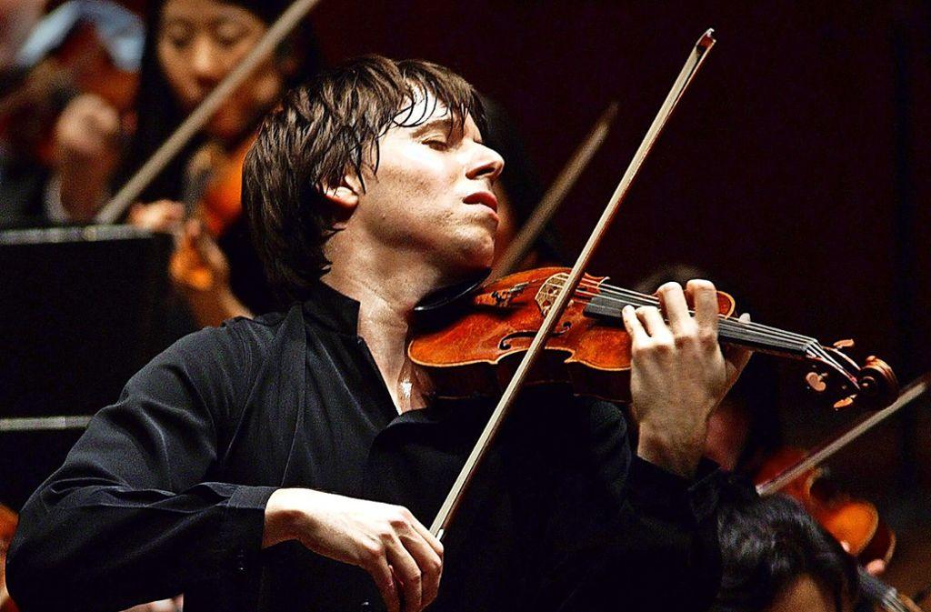 Erster Geiger und Leiter der Academy of St. Martin: Joshua Bell Foto: Russ