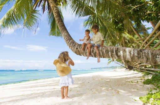 Mit Kindern in der Karibik