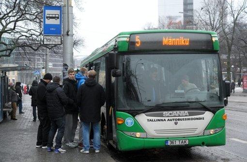 Freie Fahrt in Tallinn