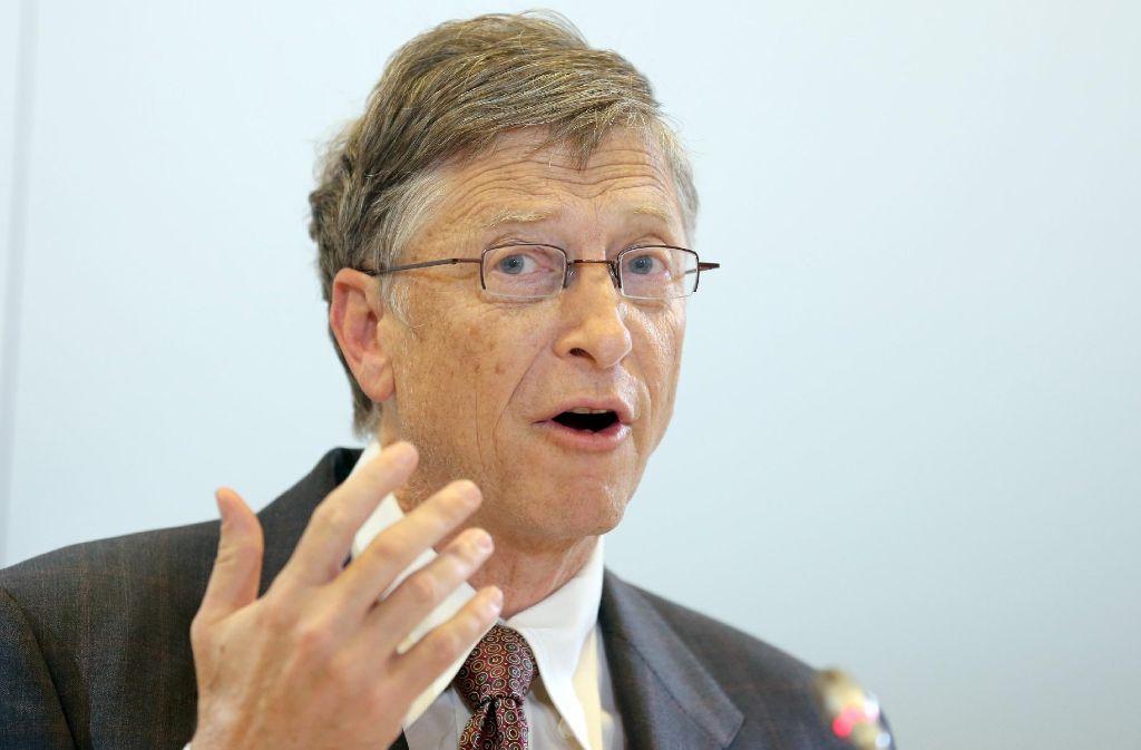 """""""Das Spam-Problem wird innerhalb der nächsten zwei Jahre beseitigt sein"""", glaubte Bill Gates noch im Januar 2004. Foto: dpa"""